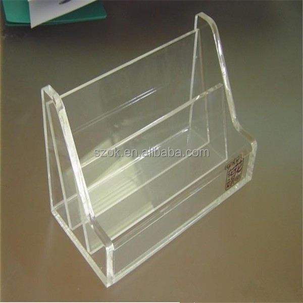 Handmade China supplier acrylic graphic card holder for citizenship