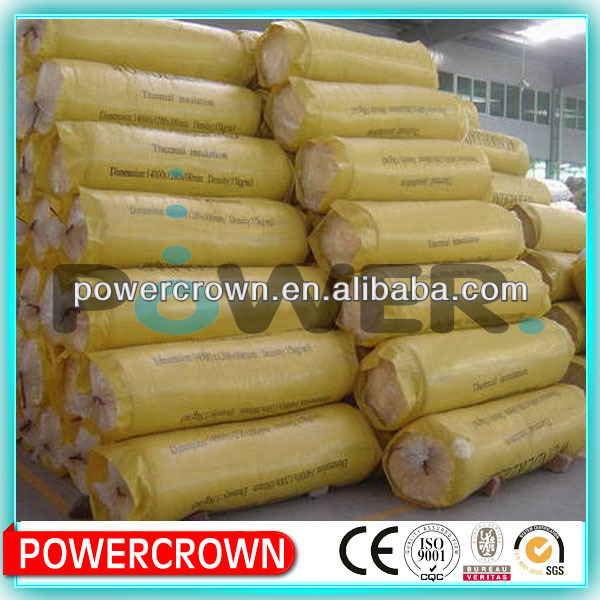 Best supplier! sound proof glass wool insulation /ceiling insulation blanket