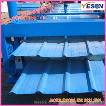 steel roofing tile gallery/Chinese roofing sheets low price/840mm corrugated steel tile for sale