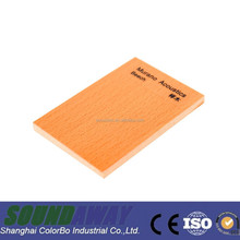 melamine finish bamboo acoustic wall panel for soundproof office partition