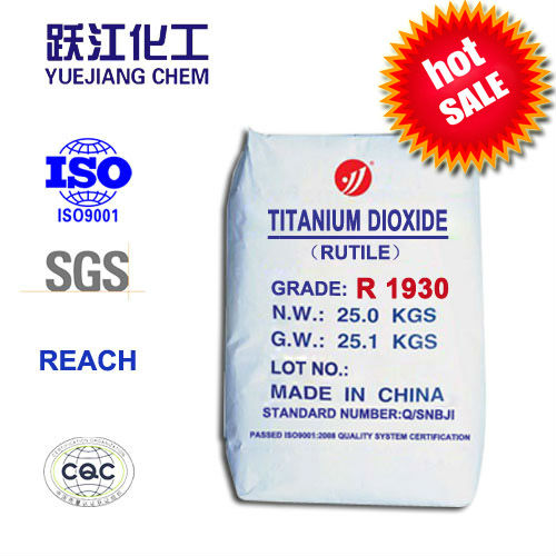 Titanium dioxide Rutile Type for Line marking paint