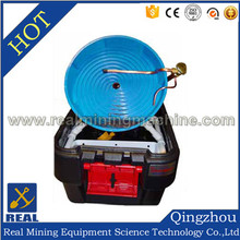 Water supply auger-type gold separating pan/gold mining pan