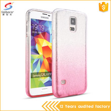 Wholesales tpu glitter for samsung galaxy s5 case