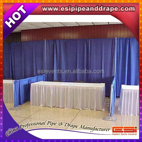 ESI trade show equipments for trade show booth exhibit display,pipe and drape kits