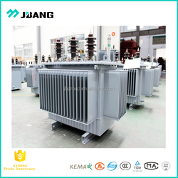 Professional transformer manufacturer primary 5kv~35kv oil immersed type transformers 20kva-2000kva full seal copper windings