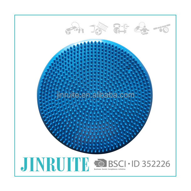 Manufactory custom fitness massage exercise disc ,balance cushion