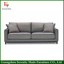 2016 Simple Design Top Quality Furniture cheap living room white sofa With Metal legs