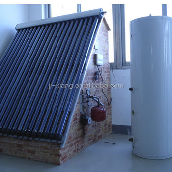 Split Pressure Bearing high pressurized Solar water Heater system