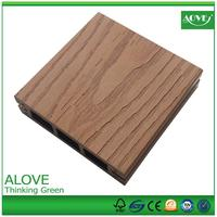 Outdoor plastic deck wpc floor covering