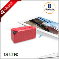 Latest craze x3 bluetooth mini wireless speaker with microphone call
