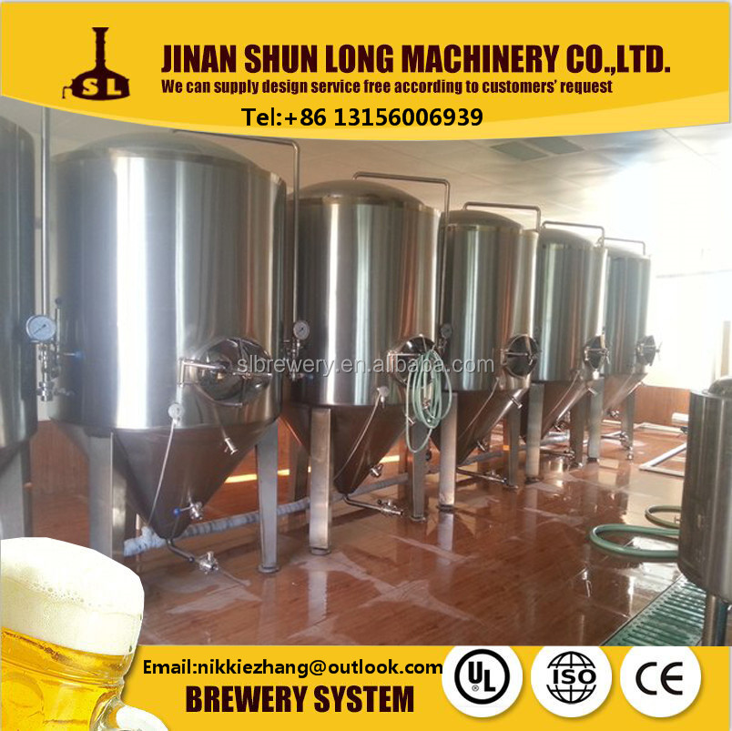 2000l Beer machine for pub brewing beer fermentation tank