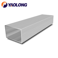 TP304 316 316L stainless steel rectangular pipe welded square tube
