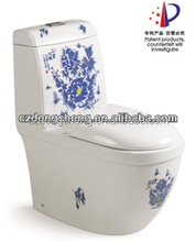 New design decal and color bathroom toilet sets
