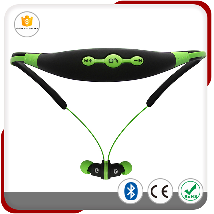2016 Newest Bluetooth Headphone Hottest Neckband Wireless Headset Sweatproof Running Bluetooth Earphone With Magnetic