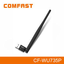 Best Quality COMFAST CF-WU735P 150Mbps Ralink5370 2.4Ghz Wireless Network Card with 5DBI Antenna