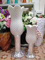 ceramic tall goblet wedding centerpieces floor vase for marriage decor, 120cm