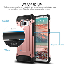 2 in 1 Hybrid superior steel armor mobile phone accessories case for LG V20 K8 K10