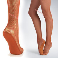 BT00007 Professional Non-skid Sole Latin Dance Fishnet Tights/ Snagging Resistance Women Dancing Fishnet Tights