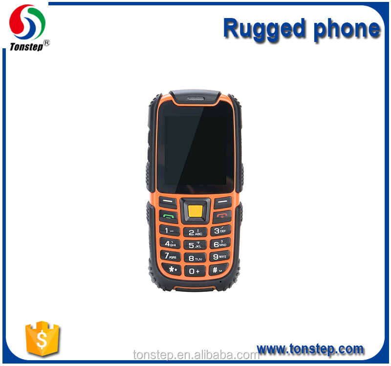 2.4 inch original IPS screen rugged mobile phone