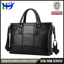 2016 fashion briefcase for business trip laptop computer bags genuine leather laptop bag Guangzhou factory men leather bag