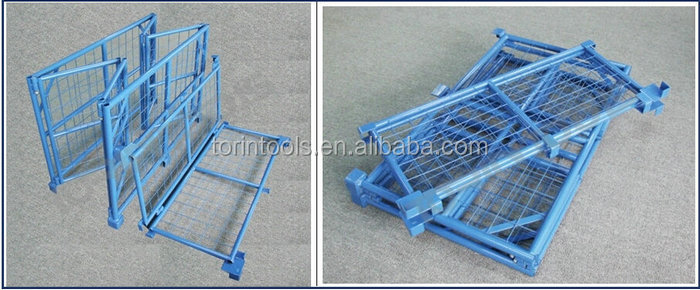 China Industrial Steel Folding Collapsible Storage Container