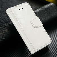 New mobile phone accessory for iPhone 5 5s genuine leather wallet case pouch for iPhone 5 5s