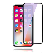 3D Curved Full Cover Hight Clear Anti Blue Light Screen Protector For iPhone X 2 Pack