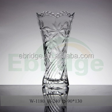China Engraved Crystal Vases China Engraved Crystal Vases