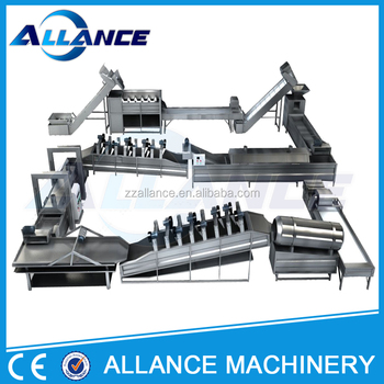 Full automatic Efficient stainless steel potato chips machine