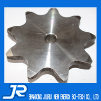 2015 China professional customized stainless steel 304 linked chain large sprockets