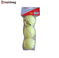 Bulk natural rubber sports training OEM custom logo personalized standard advertising ITF Approved Tennis rackets Ball