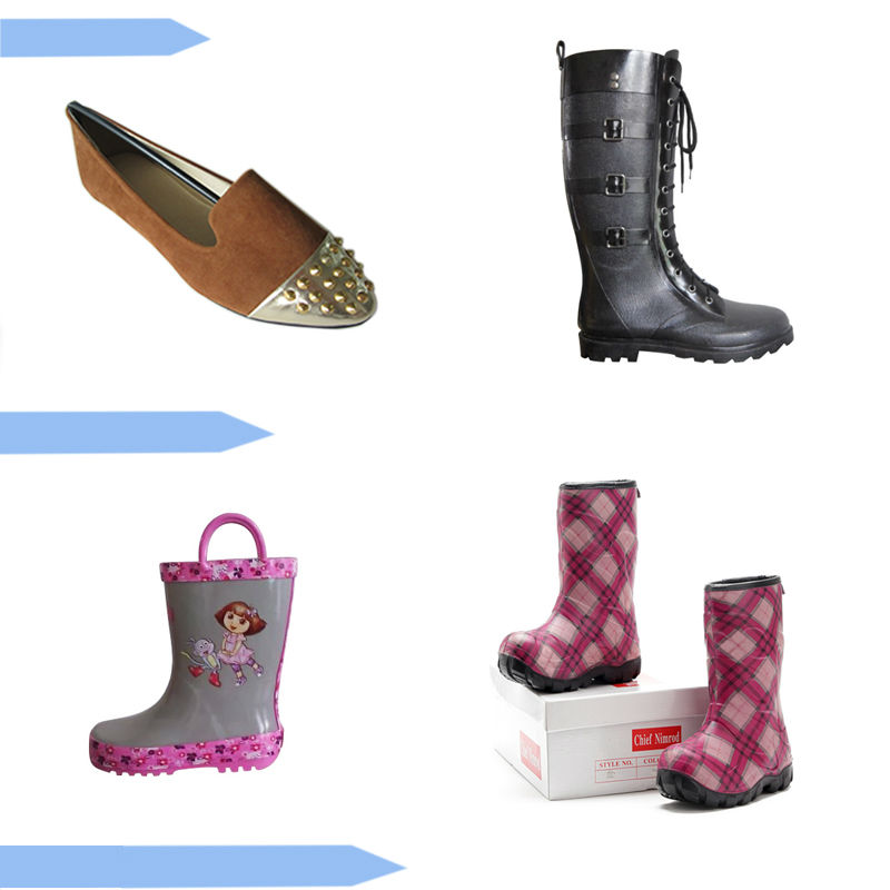 High quality PVC rubber rain boots