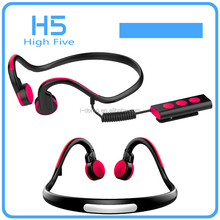 Fashion Noise canceling Bluetooth 4.1Bone Conduction Headphones wireless neck straps stereo for outdoor sports