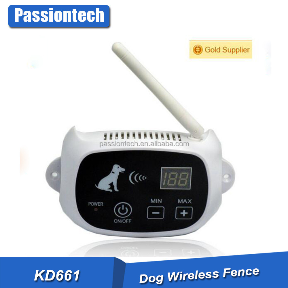KD-661 Training No Wire Electric Dog Fence System 1/2/3 Dogs Shock Collars Hidden Dog Fence