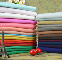 100% Pure Washed Linen Fabric