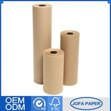 Good Quality Semi-Extensible Sack 80Gsm Brown Kraft Paper Roll In Dubai