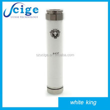 rich in stock!!!amazing product 2014 mechanical mod king mod clone,white king mod v2 1:1 clone