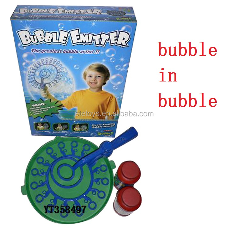 plastic big bubble wand Magic bubble ring soap bubble set