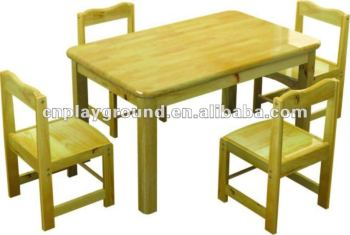 AMAZING !!! EXCELLENT QUALITY CHILD WOOD TABLE ,SQUARE CHILD WOOD TABLE ,PRESCHOOL WOOD TABLE kids school tables (M11-07205)