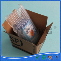 Air inflating tube pouch column bag for milk powder can