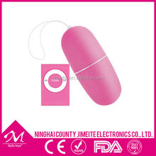 MP3 Player 10 Speeds Wireless Vibrating Remote egg