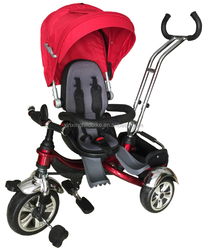 2015 hot sale high quality rotatable baby tricycle kids tricycle/children tricycle/ ride on toy tricycle with CE