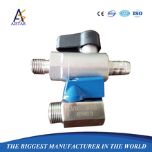 Mini stainless steel gas OEM ball valve 2inch 2way 3way ball vale