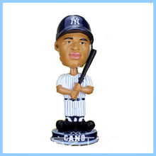 Custom Polyresin Baseball Player Bobblehead