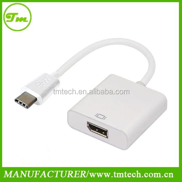 DisplayPort to usb 3.1 type c Cable Adapter