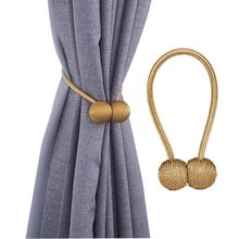 Home Furniture decorative Magnetic Curtain Buckle Tieback Tie Back Holdback Curtain tieback