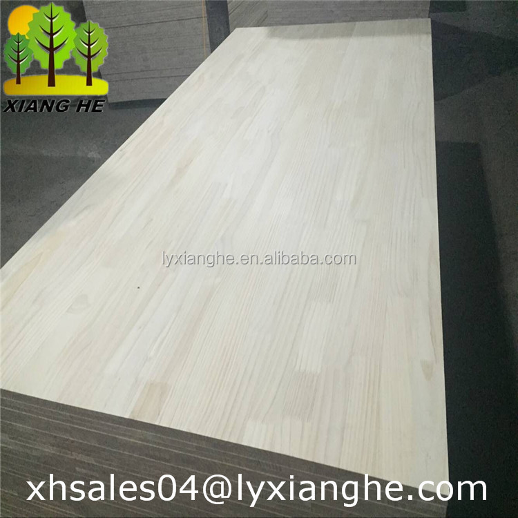 Timber finger joint board pine wood