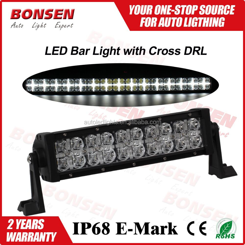 52inch 240W motorcycle accessories 4x4 7D curved Led Light bar Off road led car light daytime running light with cross optics