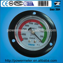 2.5 inch vacuum pressure gauge measuring instruments with CE certificate