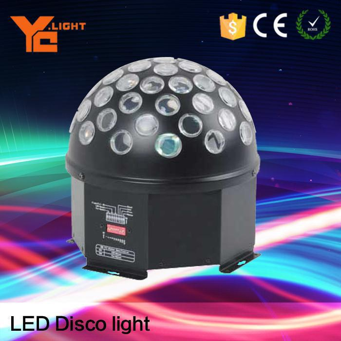 Tested Factory Led Crystal Ball, Colored Disco Ball
